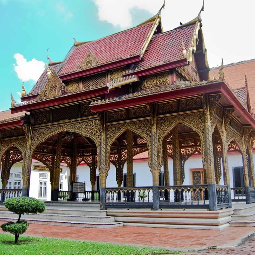 Bangkok National Museum in Bangkok-Thailand