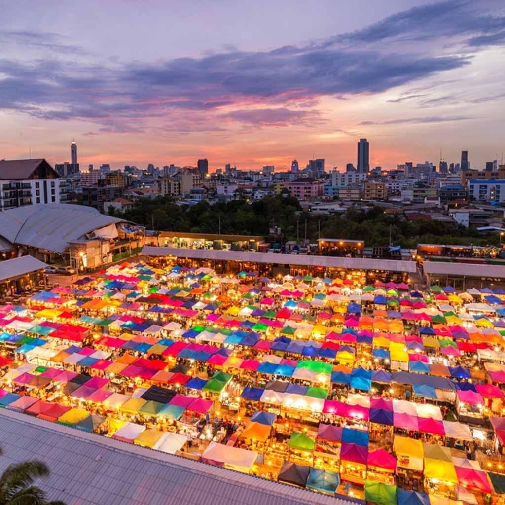 Chatuchak Market in Bangkok-Thailand
