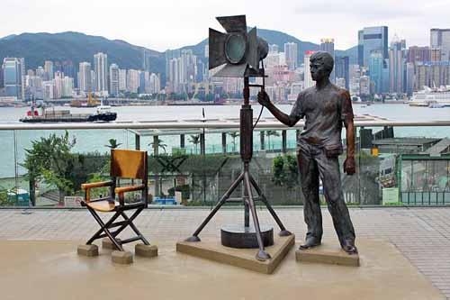 Garden of Stars in Hong Kong