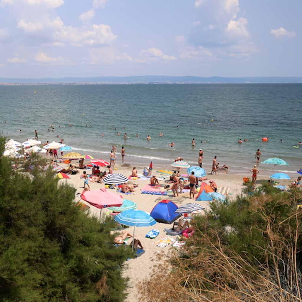 Pomorie in Bulgaria