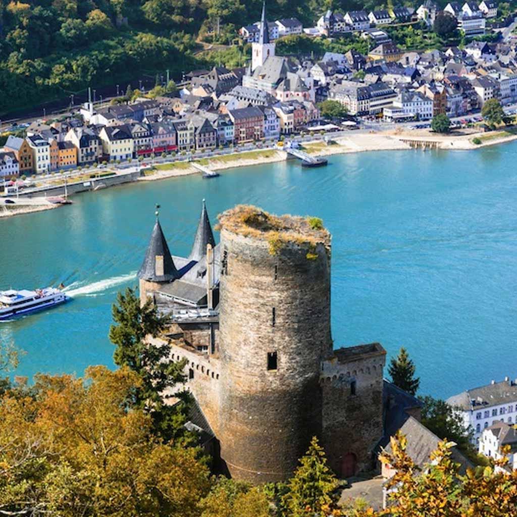 Romantic Rhine in Germany