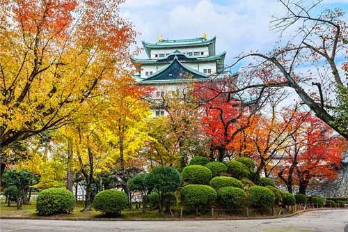 The Atsuta Shrine Nagoya in Japan