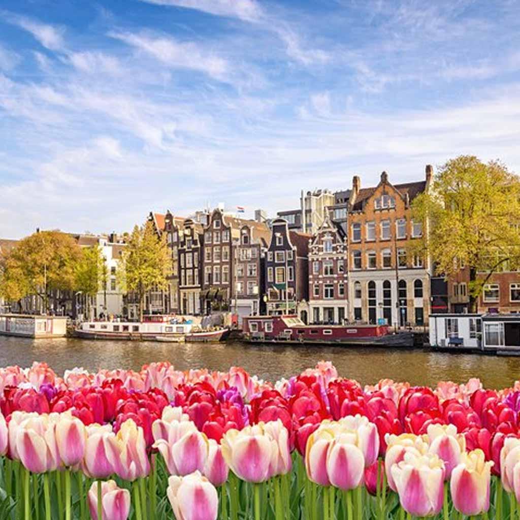Amsterdam Netherlands in Europe