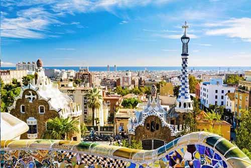 Barcelona Spain in Europe
