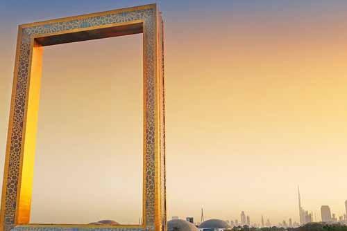 Dubai Frame in Dubai