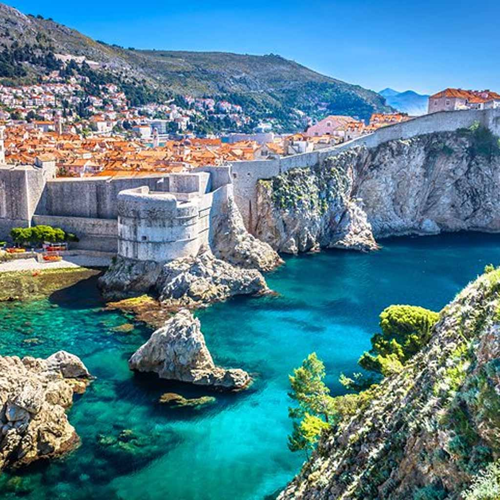 Dubrovnik Croatia in Europe