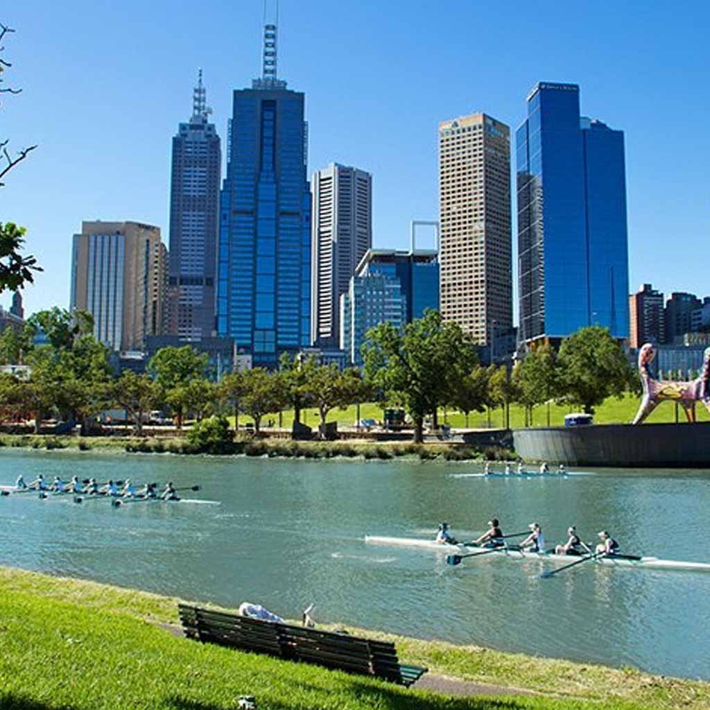 Melbourne in Australia
