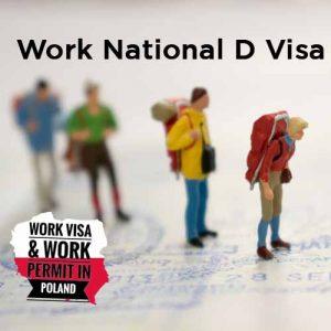Poland Work National D Visa