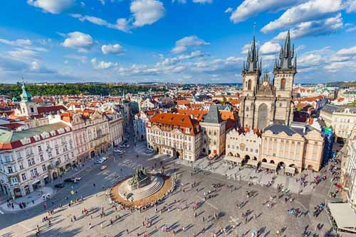 Prague Czech Republic in Europe